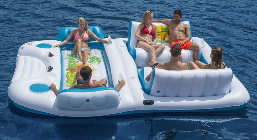 6 Person Float Inflatable Island S